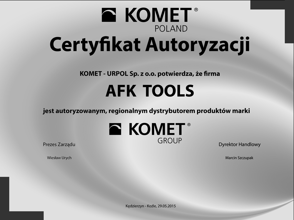 certyfikat-afk-tools-23 Firma AFK